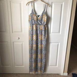 Maxi dress - patterned chiffon